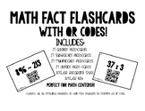 Math Fact Flash Cards with QR Codes