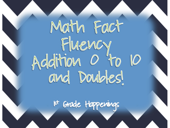 Math Fact Fluency 0-10 Addition