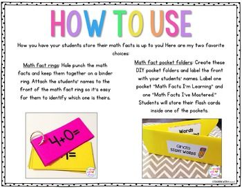 Math Fact Fluency (Addition and Subtraction)