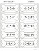 Math Fact Fluency Activities