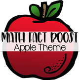Math Fact Fluency Activities { Apple Theme }
