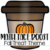 Math Fact Fluency Activities { Fall Treat Theme }