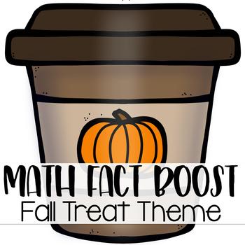 Math Fact Fluency Activities { Fall Treat Theme }