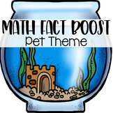 Math Fact Fluency Activities { Pet Theme }