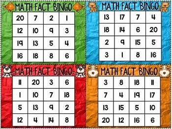 Math Fact Fluency Activities { Pet Theme }