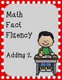 Math Fact Fluency- Adding Two