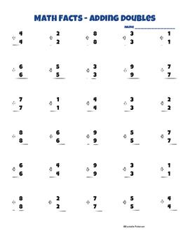Math Fact Fluency Addition Bundle