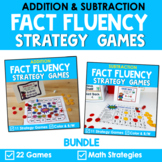 Math Fact Fluency Addition & Subtraction Games - Super Her