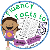 Math Fact Fluency Addition Subtraction Kindergarten