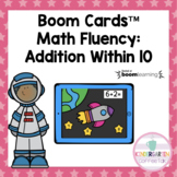 Math Fact Fluency: Addition Within 10 | Boom Cards™ | Dist