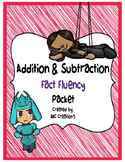 Math Fact Fluency Addition and Subtraction Packet / Timed