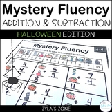 Math Fact Fluency Addition and Subtraction to 20 - Hallowe