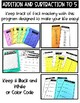 Math Fact Fluency Addition and Subtraction to 5