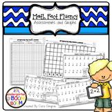 Math Fact Fluency Assessments and Graphs