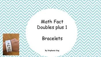 Math Fact Fluency Bracelet (doubles 1 addition)