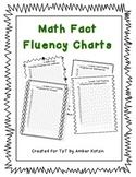 Math Fact Fluency Charts