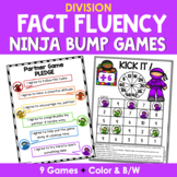 Math Fact Fluency {Division Games}