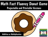 Math Fact Fluency Donut Game