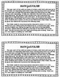 Math Fact Fluency Folder