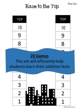 Addition Games: Addition Facts to 10