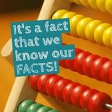 Math Fact Fluency Graph