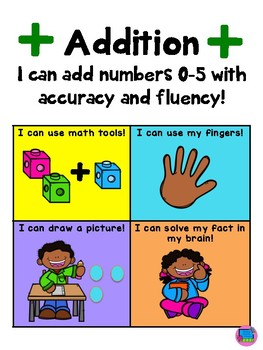 Math Fact Fluency Journal with Student Graph