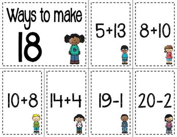 Math Fact Fluency Kids (11 to 20)