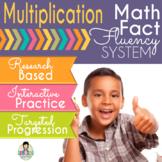 Multiplication Math Fact Fluency System