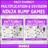 Multiplication Games and Division Games (Math Fact Fluency BUNDLE)