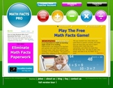Math Fact Fluency Online Game