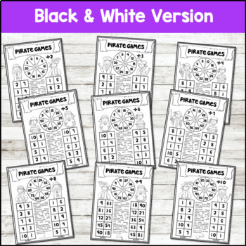 Math Fact Fluency {Pirate Division Games}