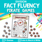 Math Fact Fluency Division {Pirate Games}