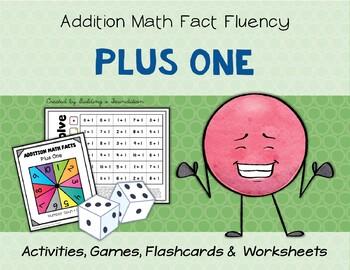 Addition Math Fact Fluency: Plus One (+1)