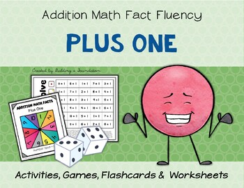 Addition Math Fact Fluency: Plus One (+1)