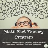 Math Fact Fluency Program