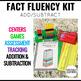 Math Fact Fluency Snap Blocks Kit
