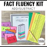 Fact Fluency First Grade Packet