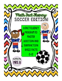 Math Fact Fluency: Soccer Edition