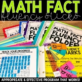 Math Fact Fluency Sticks | Math Fact Fluency Practice - Addition & Subtraction