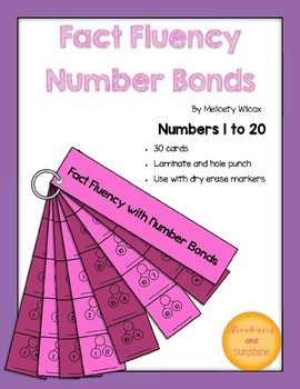 Math Fact Fluency Strips: Number Bonds