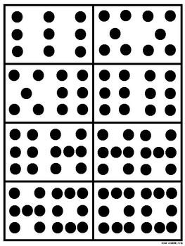 Math Fact Fluency: Subitizing Number Cards
