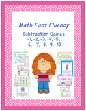 Math Fact Fluency: Subtraction Strategy Games