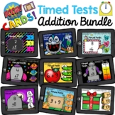 Math Fact Fluency Timed Test Addition Boom Cards