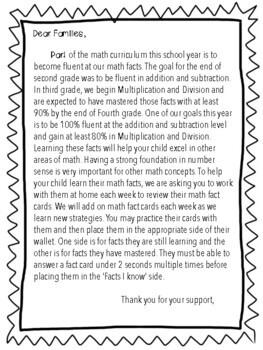 Math Fact Fluency Tracking Bundle