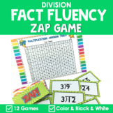 Math Fact Fluency {ZAP Division Games}