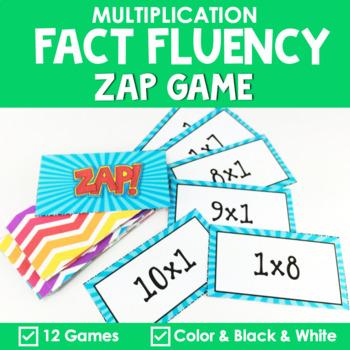 Math Fact Fluency {ZAP Multiplication Games}