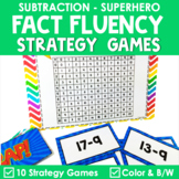 Math Fact Fluency {ZAP Subtraction Games}