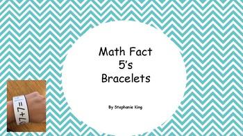 Math Fact Fluency (addition 5's)