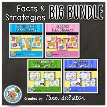 Fact Fluency Through Concepts and Strategies BIG BUNDLE