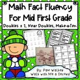 Math Fact Fluency for Mid First Grade